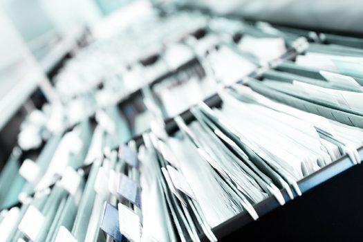 Temporaneo smarrimento di un documento, inserito per errore in altra cartella clinica